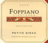 Foppiano Petite Sirah 2004