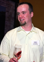 Wine writer Lenn Thompson