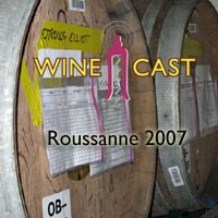 3 bottles of Roussanne @ WB17!