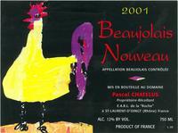 Pascal Chatelus, Beaujolais Nouveau
