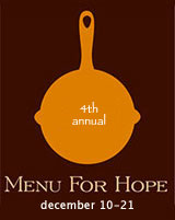 A Menu For Hope 2007