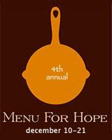 Menu for Hope 4