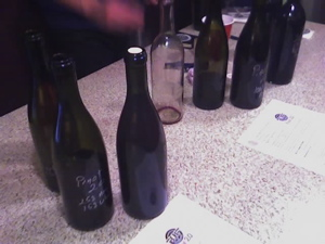 Pinot 2.0 barrel samples