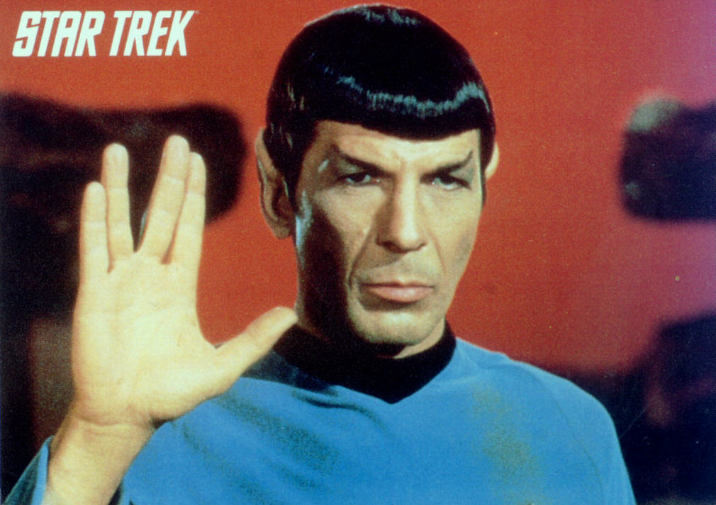 Mr. Spock, I presume...