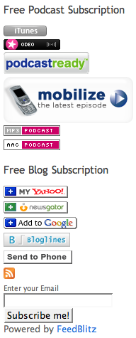 My new subscription buttons