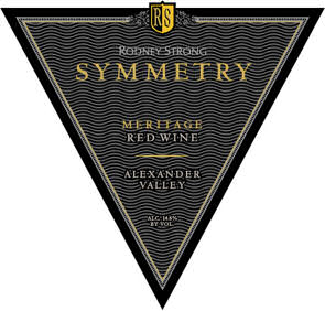 "Rodney Strong, ""Symmetry"", Meritage 2007"
