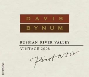 Davis Bynum Pinot Noir 2008