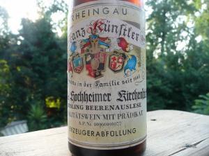 Rheingau wine label