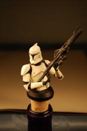Star Wars Ep.2 Clone Trooper (White) Wine Stopper